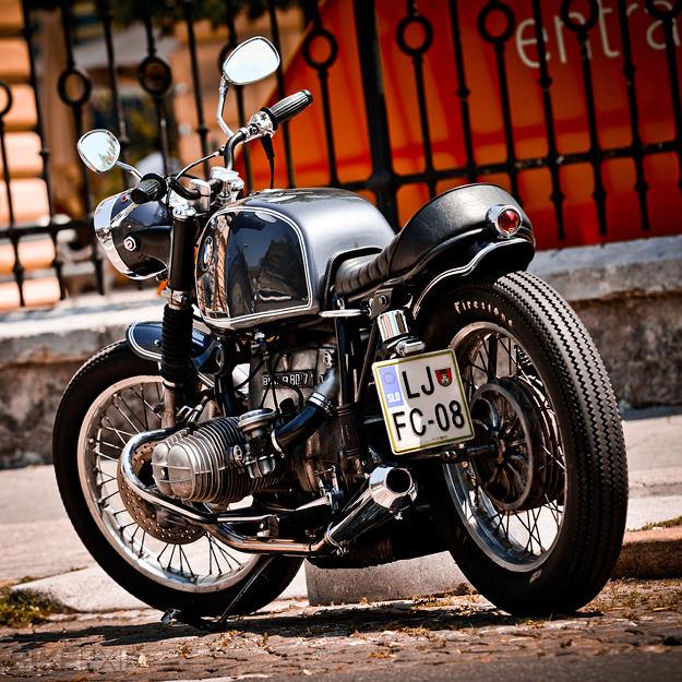 Custom BMW R80 motorcycle