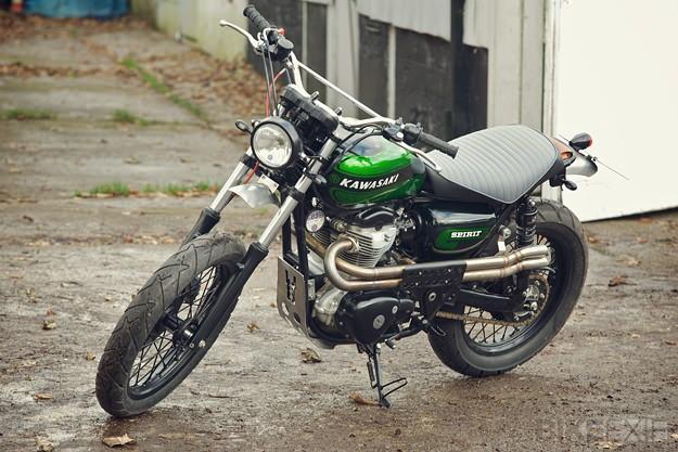 Custom Kawasaki W800