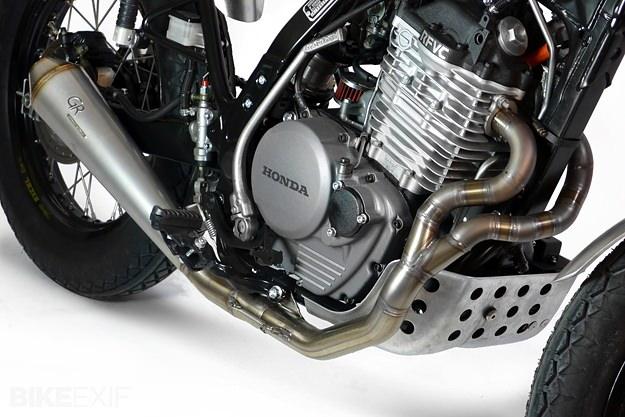 Custom Honda Dominator by Cafe Racer Dreams