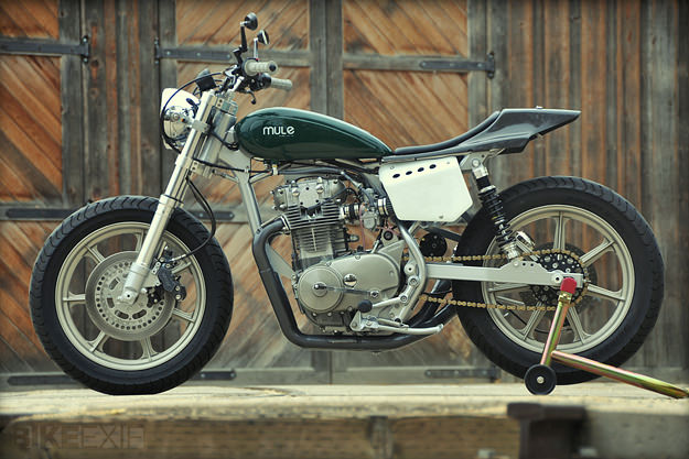 Street Tracker by Mule Motorcycles