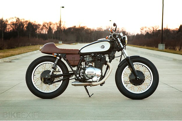 Yamaha XS400 by Analog Motorcycles
