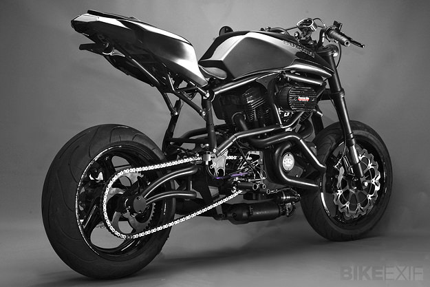 Buell custom motorcycle by Santiago Chopper