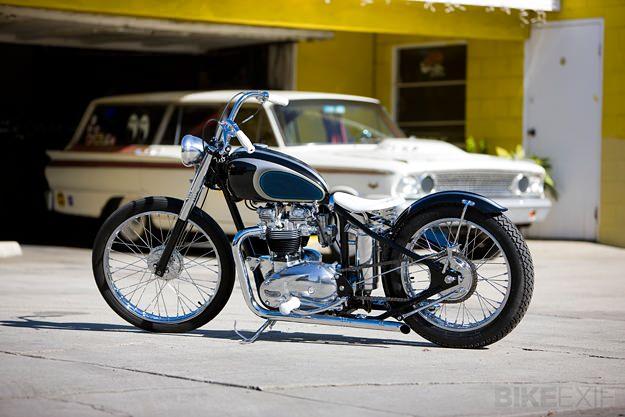 Mooneyes motorcycle