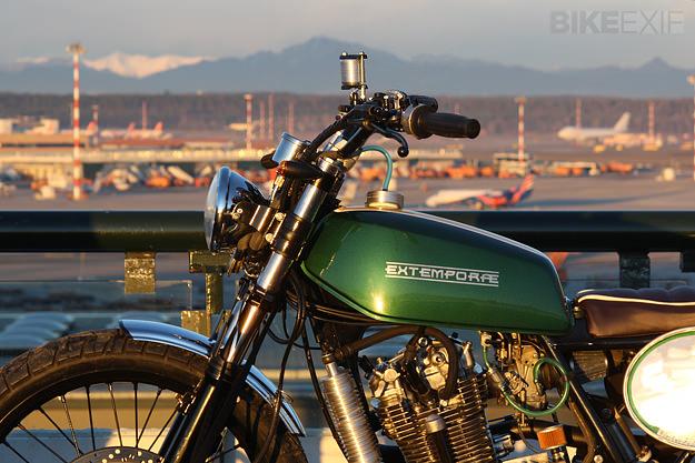 Suzuki DR650 scrambler by Extemporae