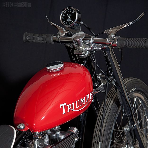 1953 Triumph T100 by Baron's Speed Shop
