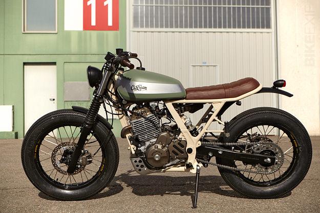 Honda NX 650 custom motorcycle