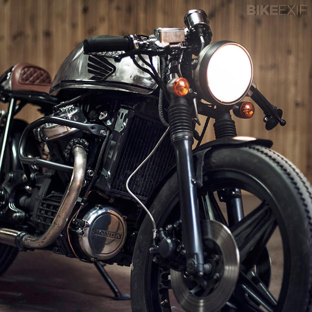 Honda CX500 custom motorcycle