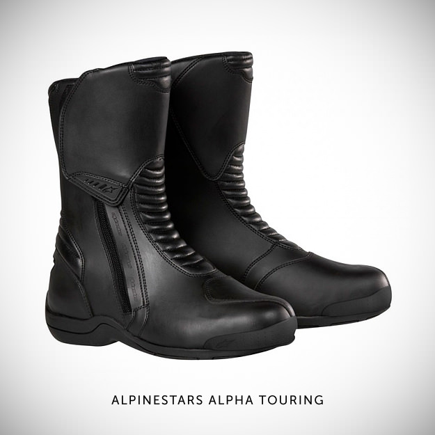 Alpinestars Alpha Touring motorcycle boots
