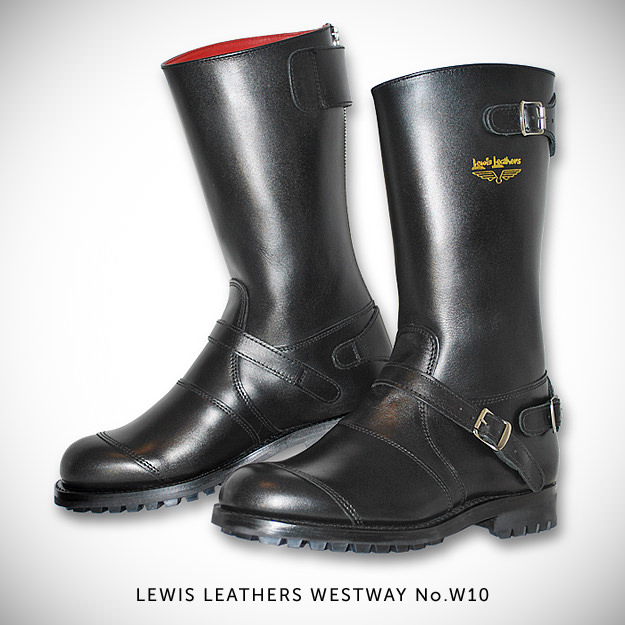 Lewis Leathers motorcycle boots
