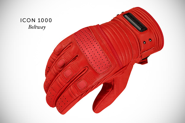 Icon 1000 Beltway motorcycle gloves
