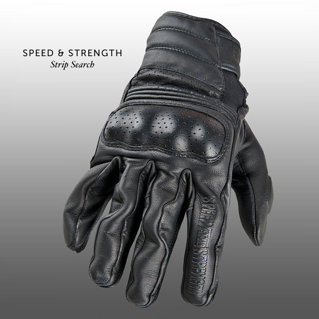 Speed Strength Strip Search motorcycle gloves