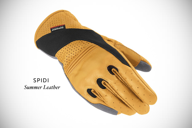 Spidi Summer Leather motorcycle gloves