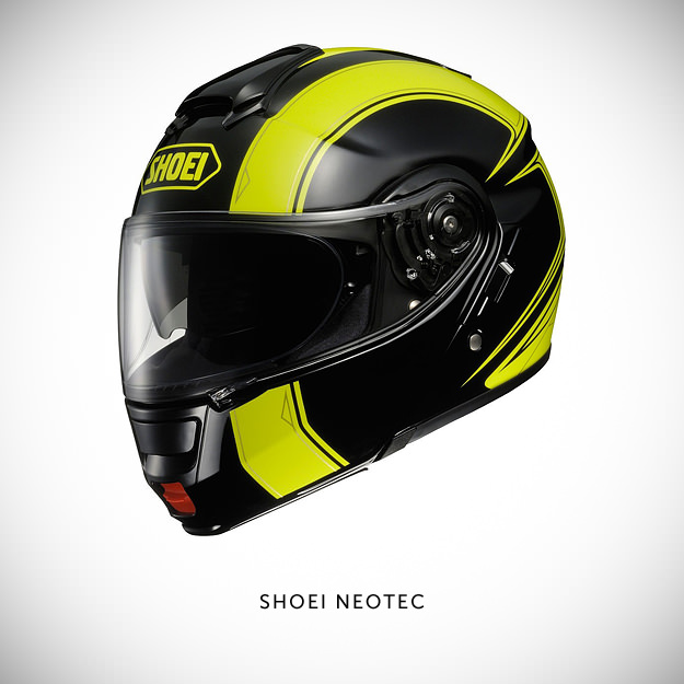 Shoei Neotec motorcycle helmet