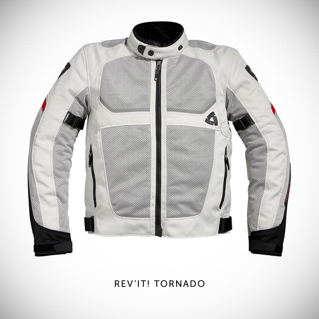 REV'IT! Tornado textile motorcycle jacket