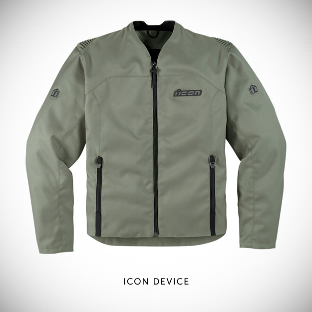 Icon Device textile motorcycle jacket