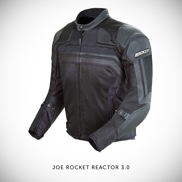 Joe Rocket Reactor 3.0 textile motorcycle jacket
