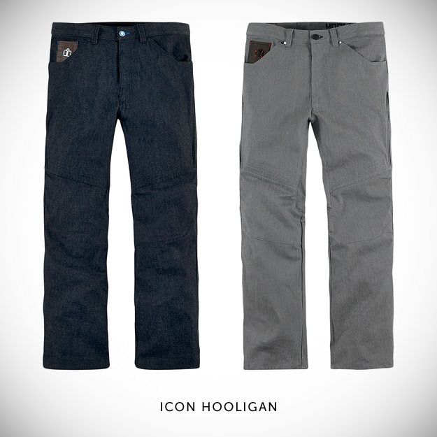 Icon Hooligan motorcycle jeans