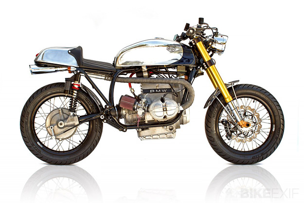 Custom BMW R100S by Michael Woolaway of Deus