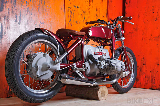BMW R75 custom motorcycle
