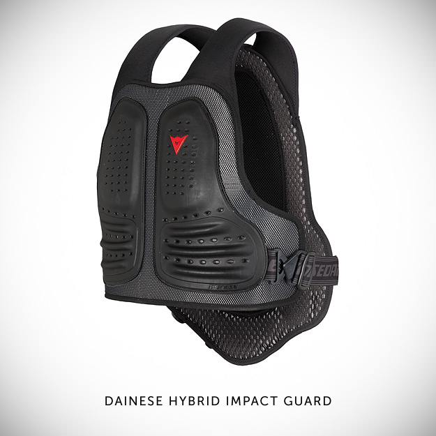 Motorcycle armor by Dainese