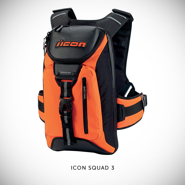 Icon Squad 3 motorcycle backpack