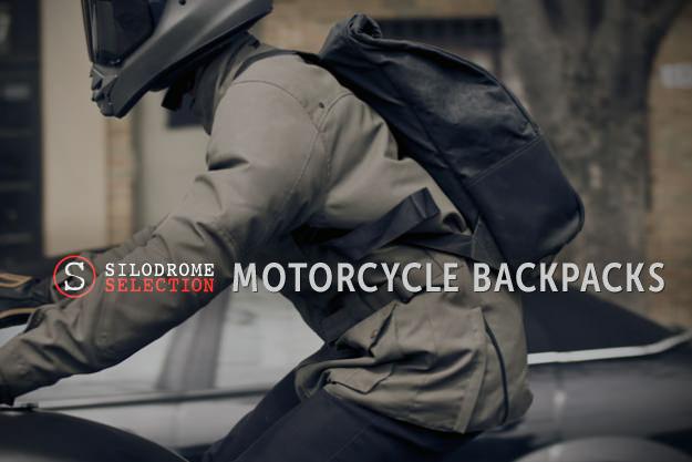 Motorcycle backpacks