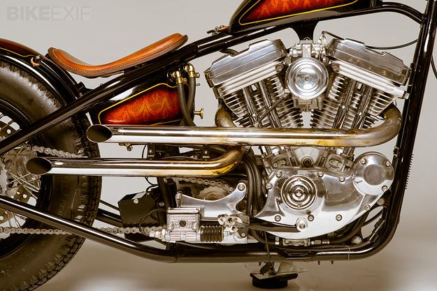 Custom Harley Sportster 1200 by Atom Bomb