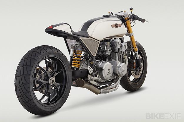 SuperStrada: A Honda CB cafe racer by Classified Moto | Bike