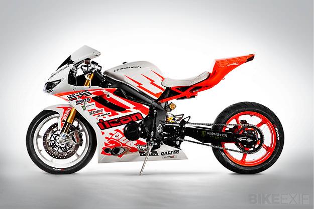 Drift motorcycle