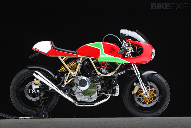 Walt Siegl builds the world's best Ducati cafe racers.