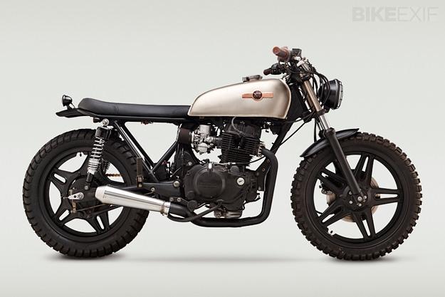 Honda CB400 by Classified Moto