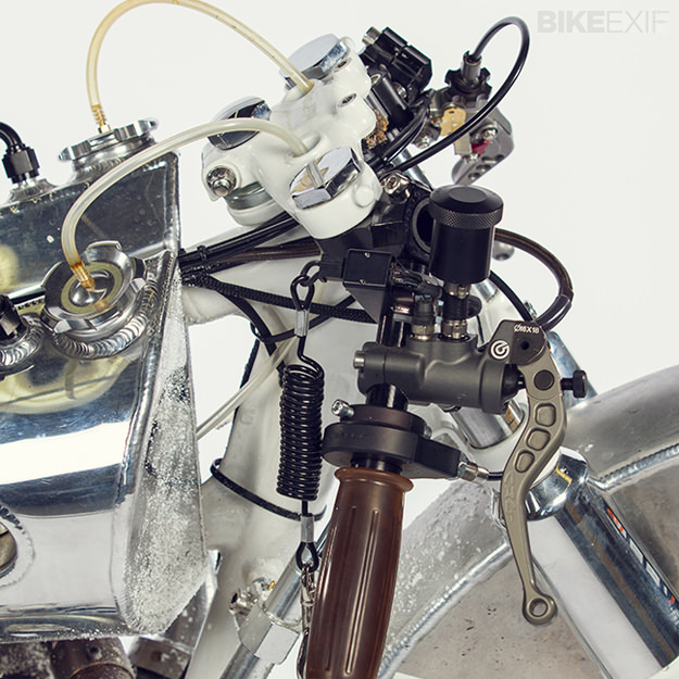 Turbocharged motorcycle
