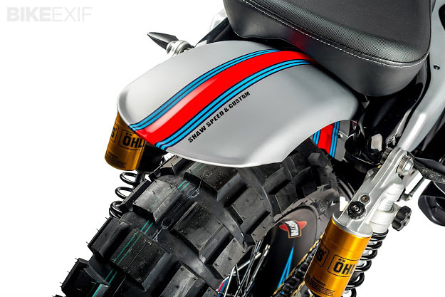Speed And Custom's Martini-themed Harley XL883R