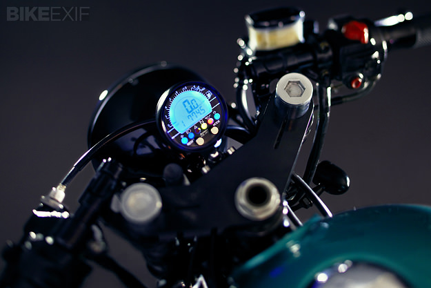 Honda CB650 custom motorcycle
