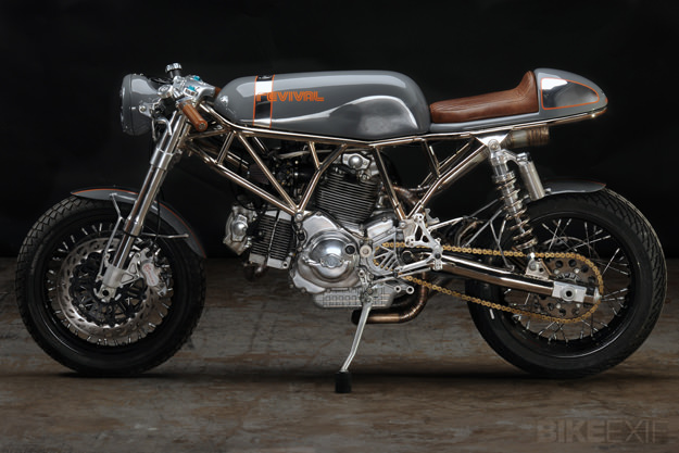Custom Ducati SportClassic by Revival Cycles