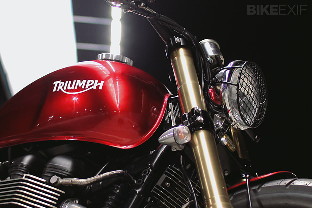2008 Triumph Bonneville custom motorcycle