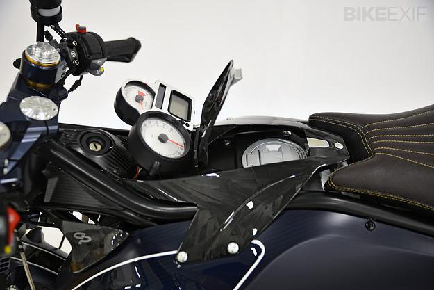 BMW R1200 custom motorcycle