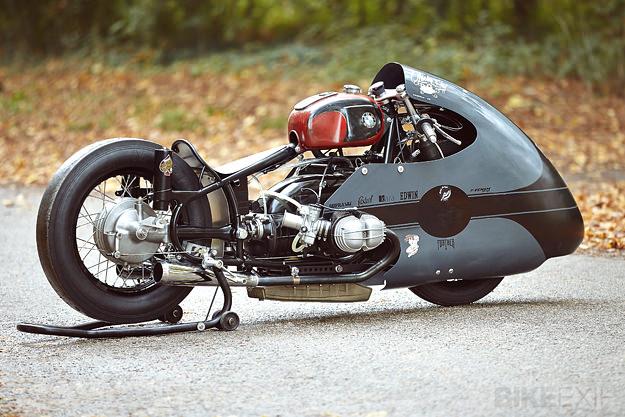 BMW racing motorcycle
