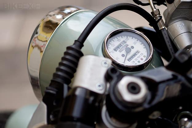 Moto Guzzi 1000 SP custom motorcycle