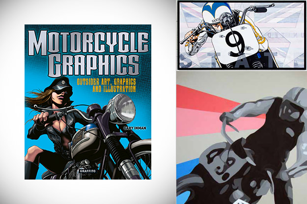 Motorcycle Graphics: Outsider Art, Graphics and Illustration book