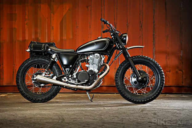 Yamaha SR400 by Wrenchmonkees
