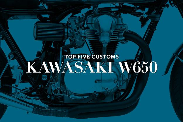 Kawasaki W650 customs