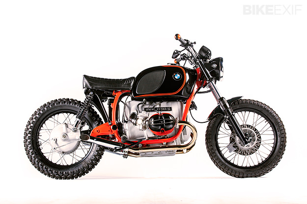 Hustler: A custom 1974 BMW R90/6 from South Africa