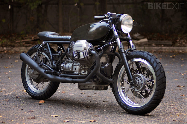 Moto Guzzi Le Mans customized by Revival Cycles