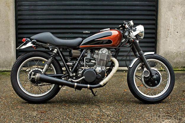 Yamaha SR500 by Lucky Cat Garage