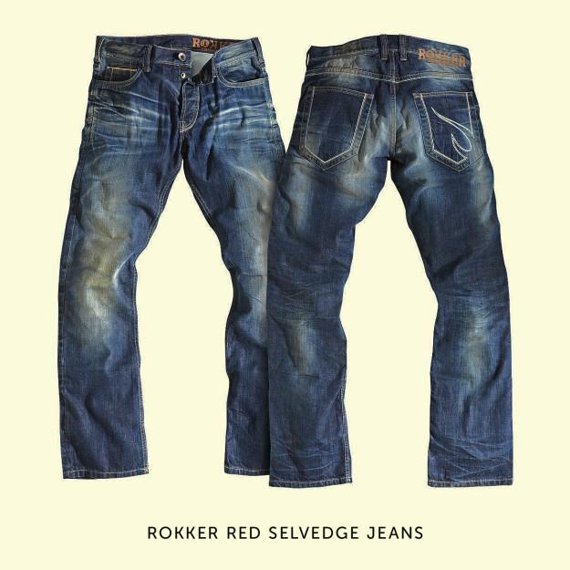 Rokker motorcycle jeans