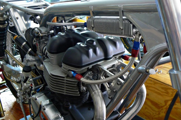 Building a cafe racer engine