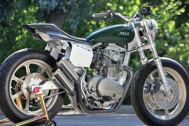 Building a cafe racer: Mule Motorcycles XS650