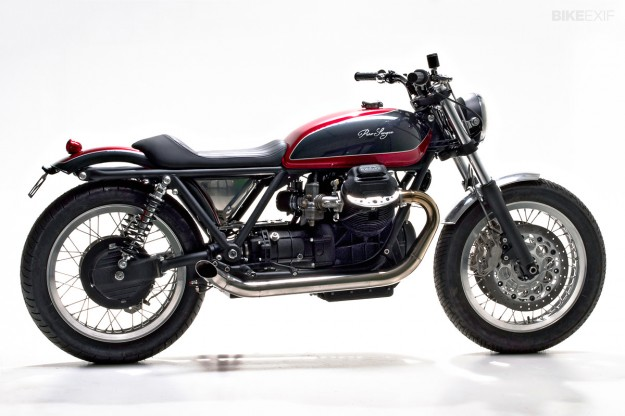 Guzzi cafe racer by Officine Rossopuro