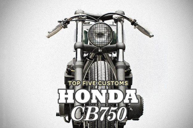 Honda CB750 custom motorcycles